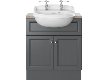 Caversham 700mm Vanity Unit Graphite