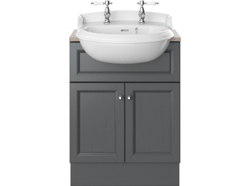 Caversham 600mm Vanity Unit Graphite
