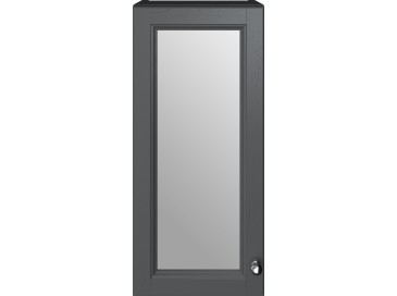 Caversham 300mm Mirrored Wall Unit Graphite