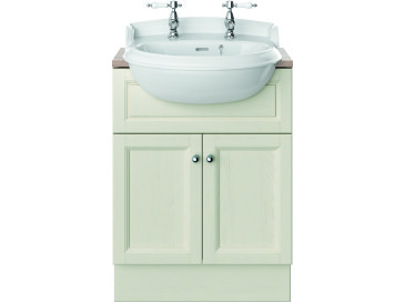 Caversham 600mm Vanity Unit Ivory Lace