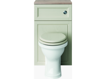 Caversham 500mm WC Unit Ivory Lace
