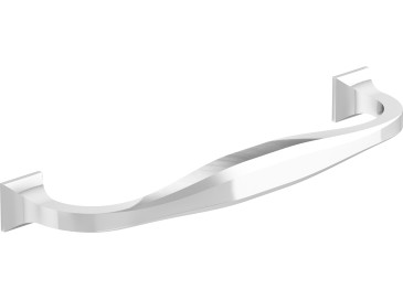 Chrome Door Handle with Square Base