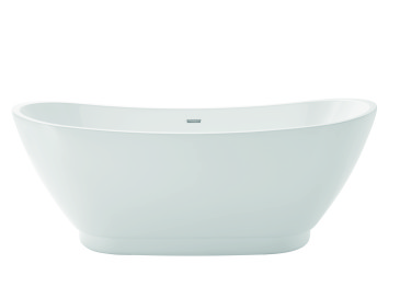Edvin Freestanding Acrylic Double Ended Bath